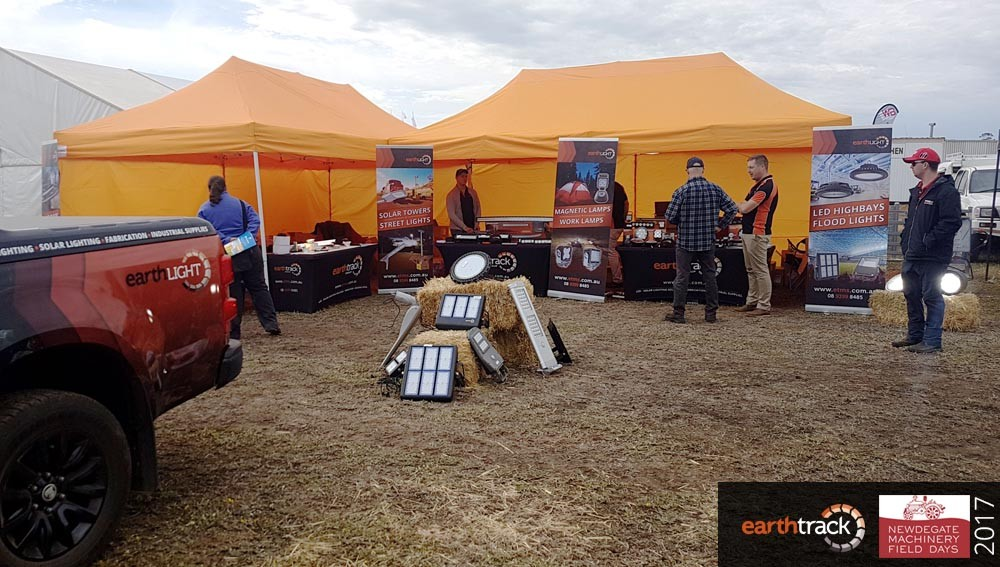 earthtrack at newdegate field days 2017