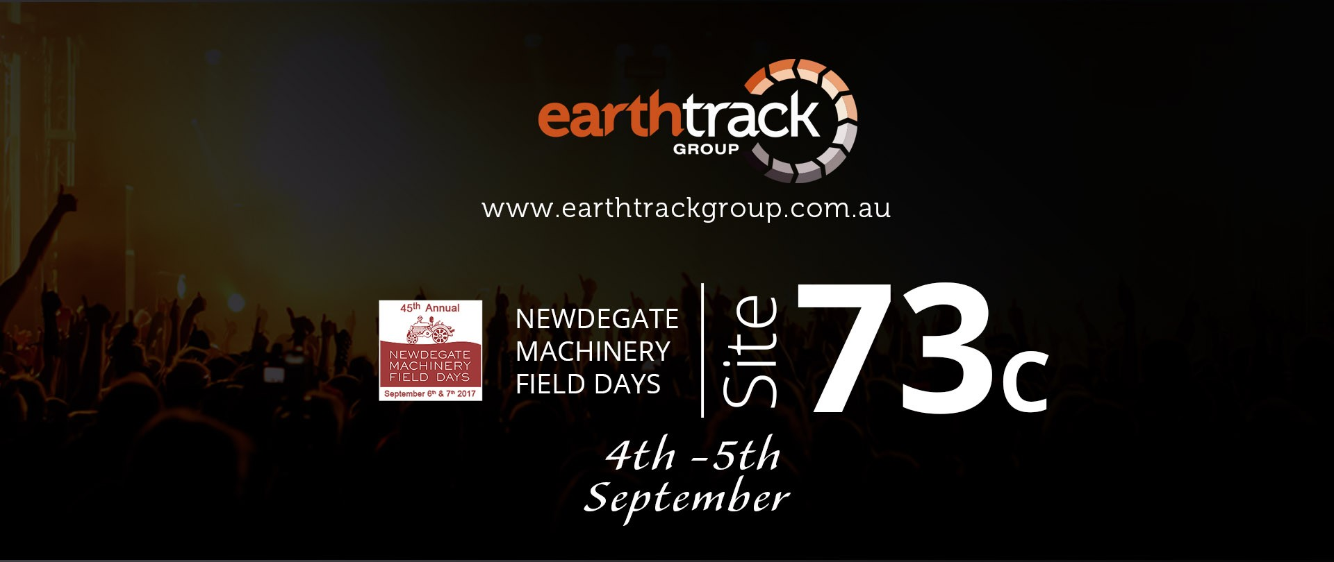earthtrack at newdegate machinery field days 2019