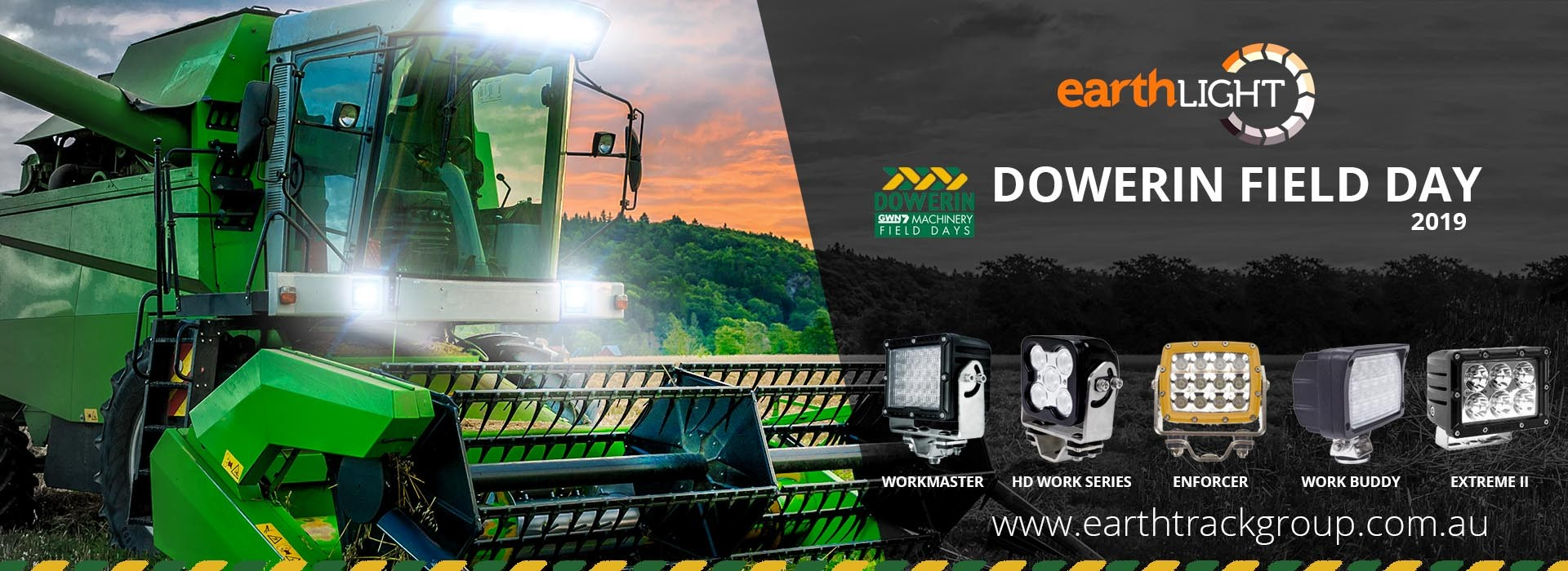 dowerin field days | earthlight | earthtrack group